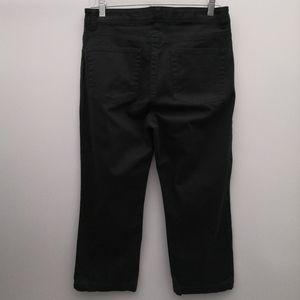 GAP Pants & Jumpsuits - 🌴 Vintage Gap Black Crop Boot Cut Stretch Pants